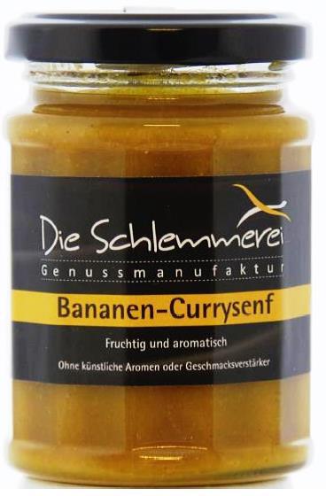 Banane-Currysenf