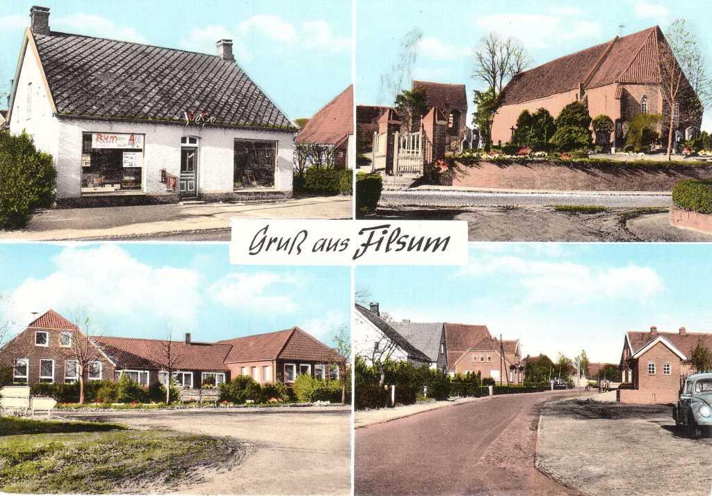 Postkarte Filsum Klein