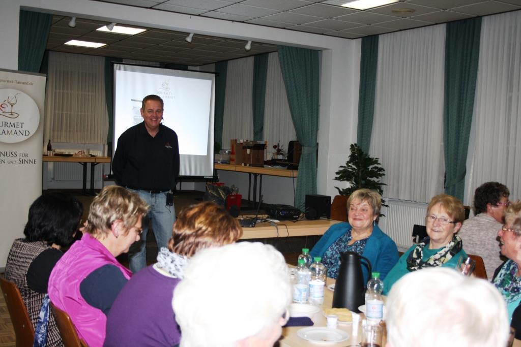 Vortrag beim Hausfrauenverein Veenhusen