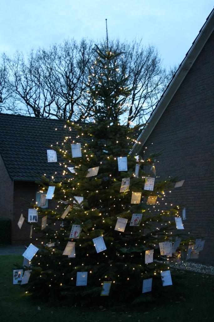 Der Weihnachts-Wunschbaum