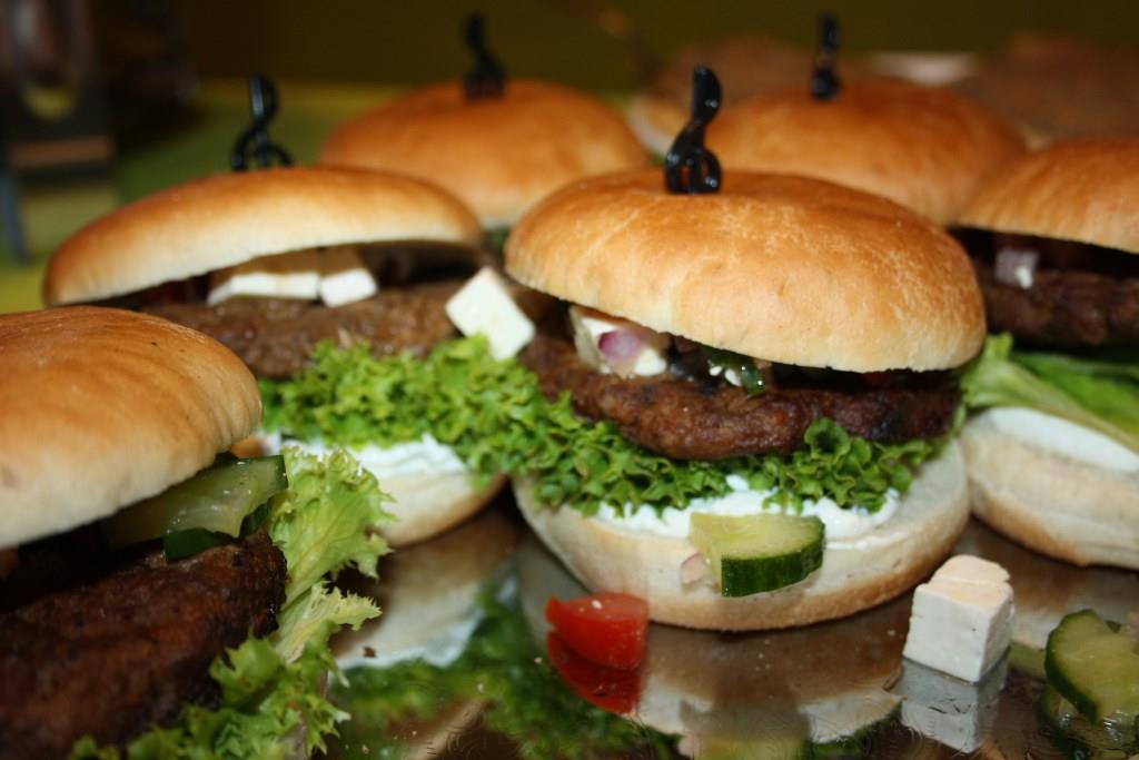 Der Gourmet Flamand Greco-Burger