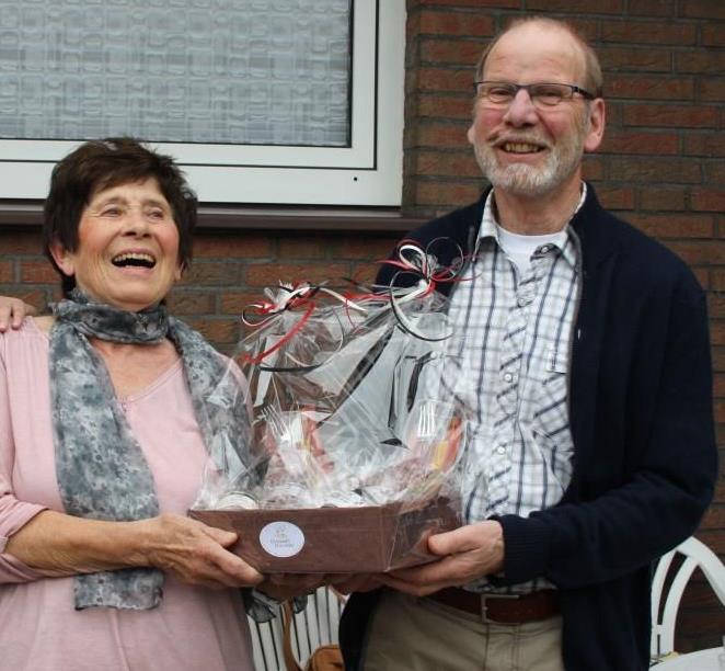 """Unsere """"hartnäckigsten"""" Fans! """"Grand Slam""""-Gewinner Ingeborg und Werner"""