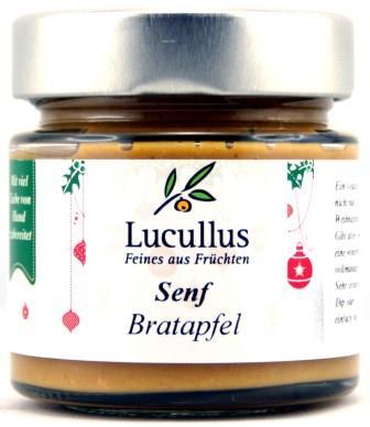 Bratapfel-Senf