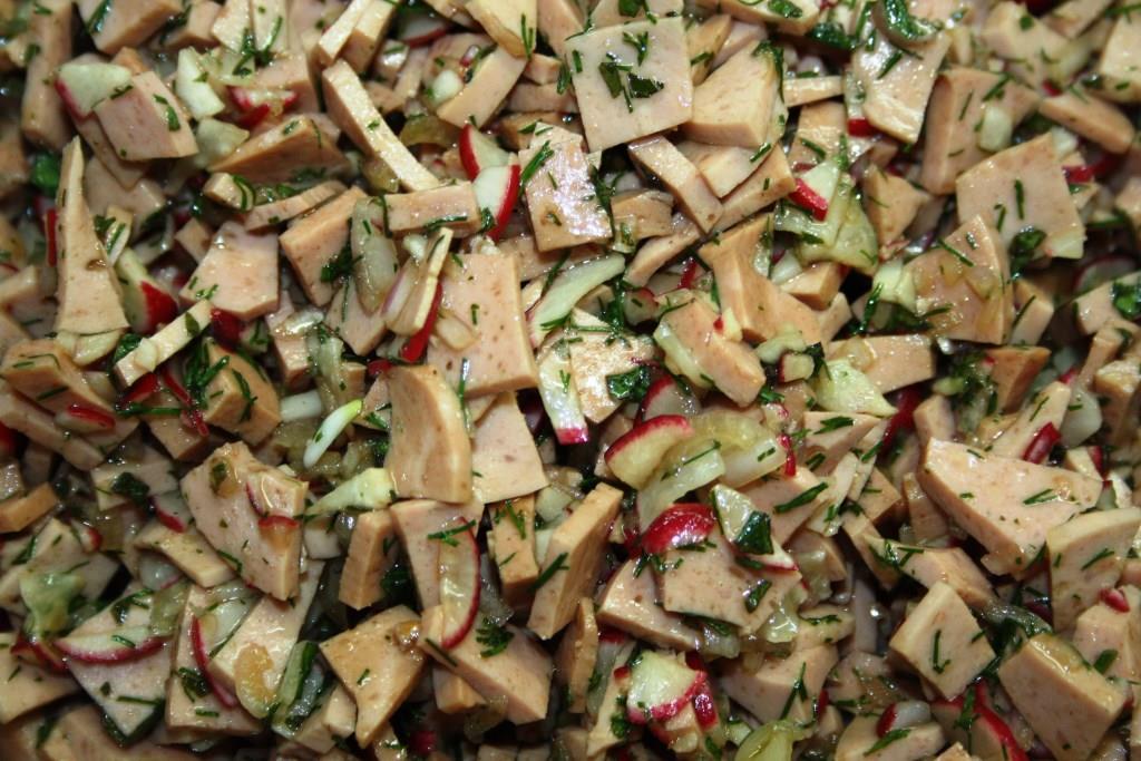 Gourmet Flamand Wurstsalat