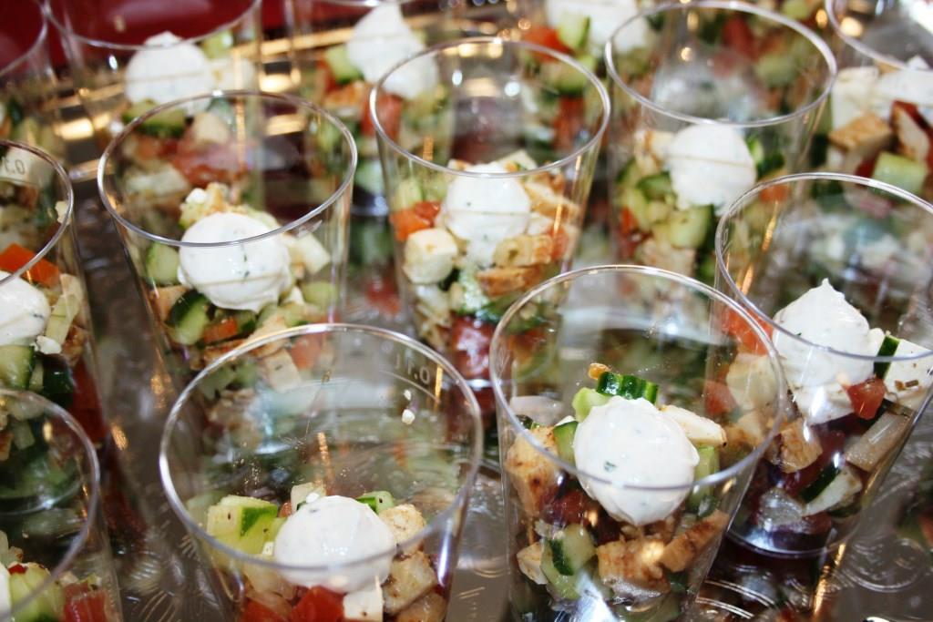 Der Adonis-Salat an beiden Tagen zum Probieren!