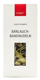 Zeit für das B'sondere: Bärlauch-Bandnudeln