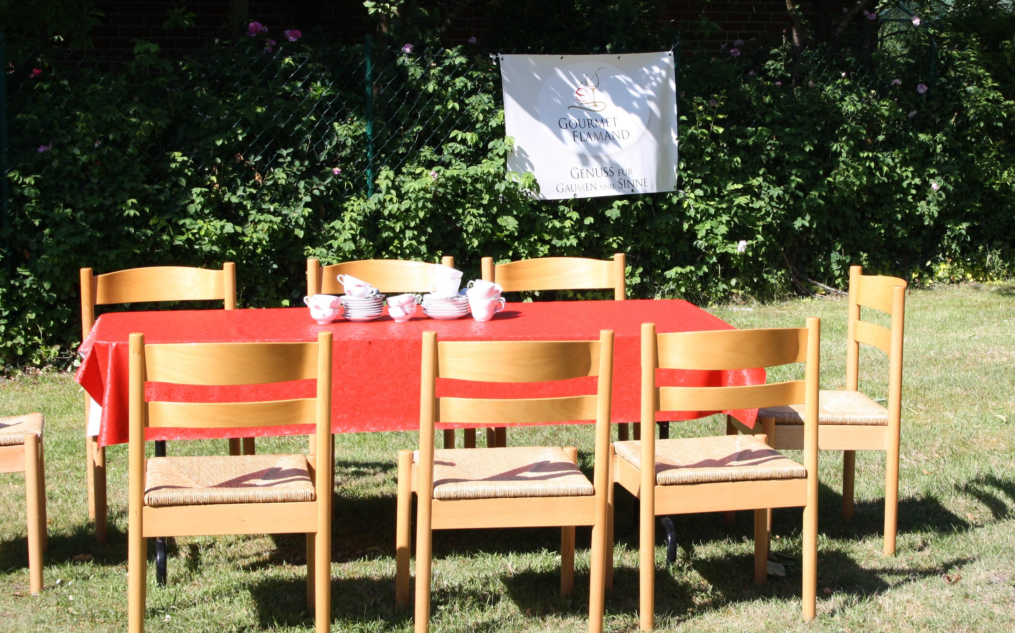 Der Tisch für das Besondere