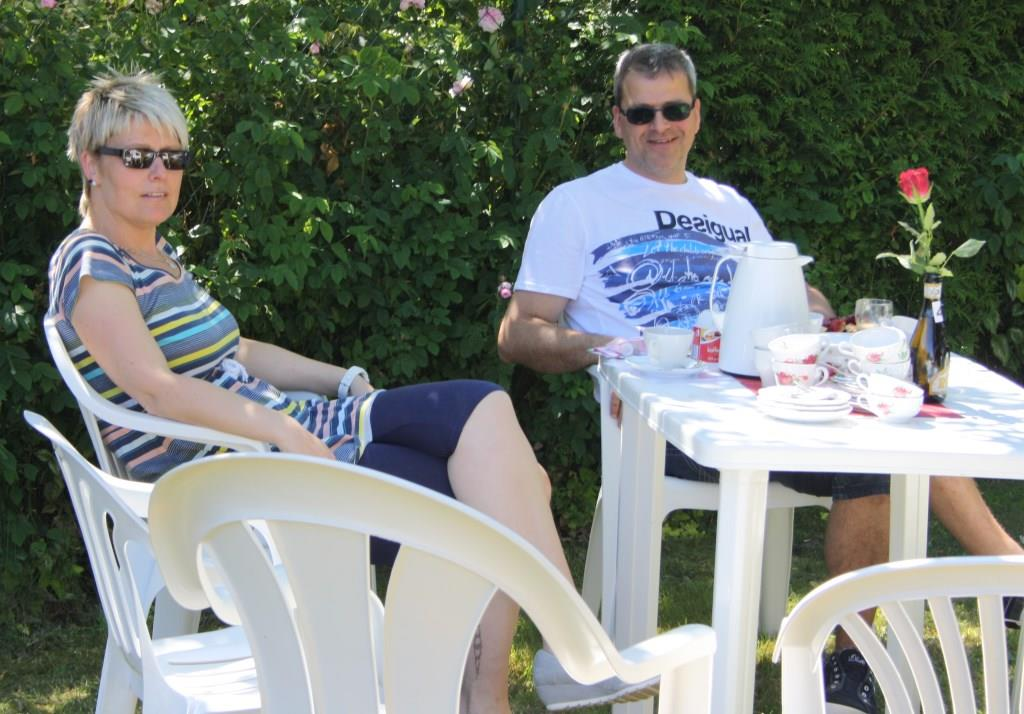 Relaxen im Garten des Dörphuses
