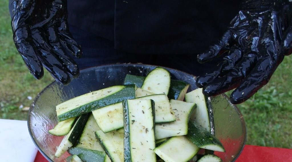 Vegetarisches vom Grill und aus der Pfanne