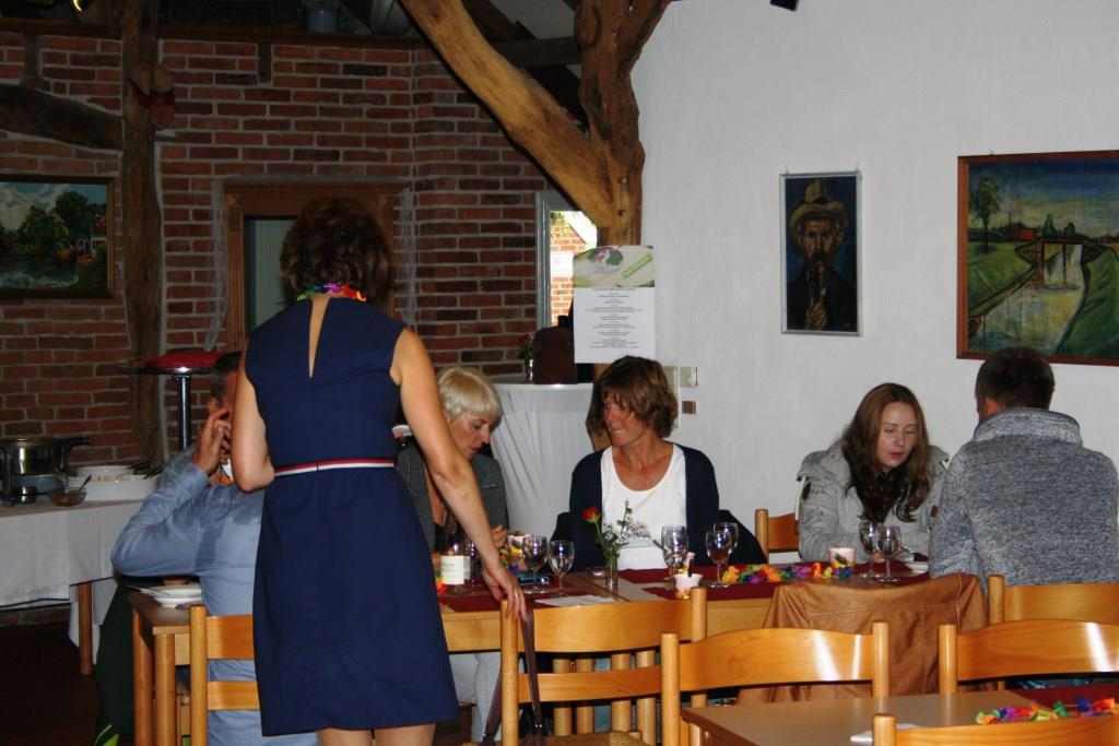 Reden und essen - für unsere Gäste der Sonntagnachmittag!