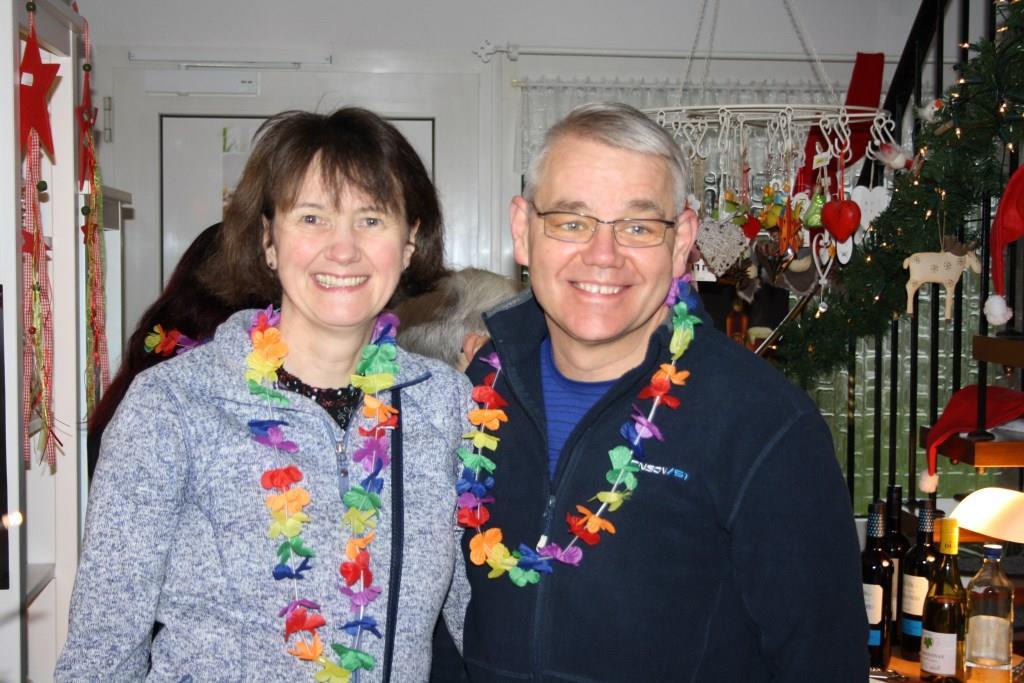 Filsums stellvertretender Bürgermeister ganz privat mit seiner Gattin.