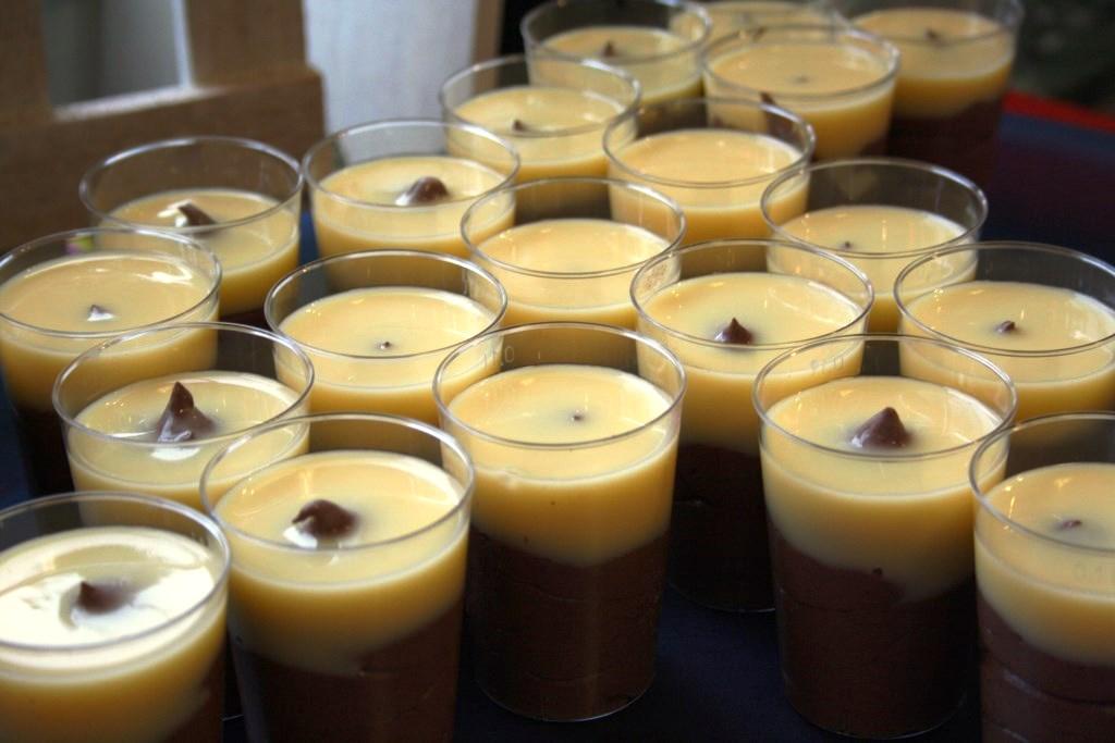 Mousse au Chocolat mit Eierlikör