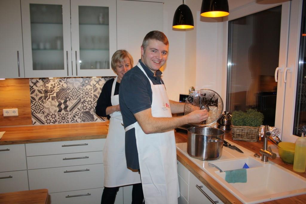 Meike und Jens Meinen schmissen den Service perfekt