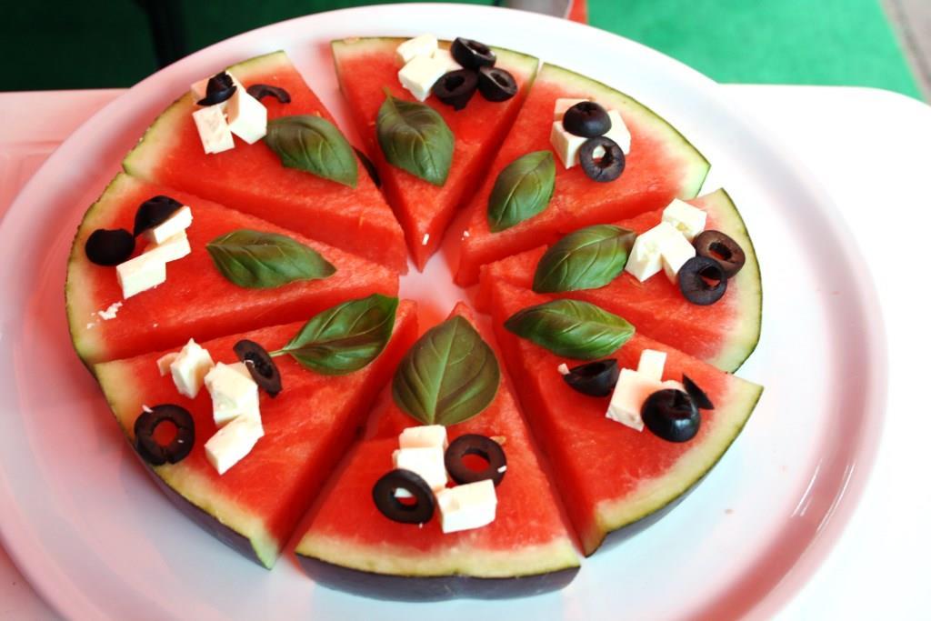 Wassermelone einmal anders