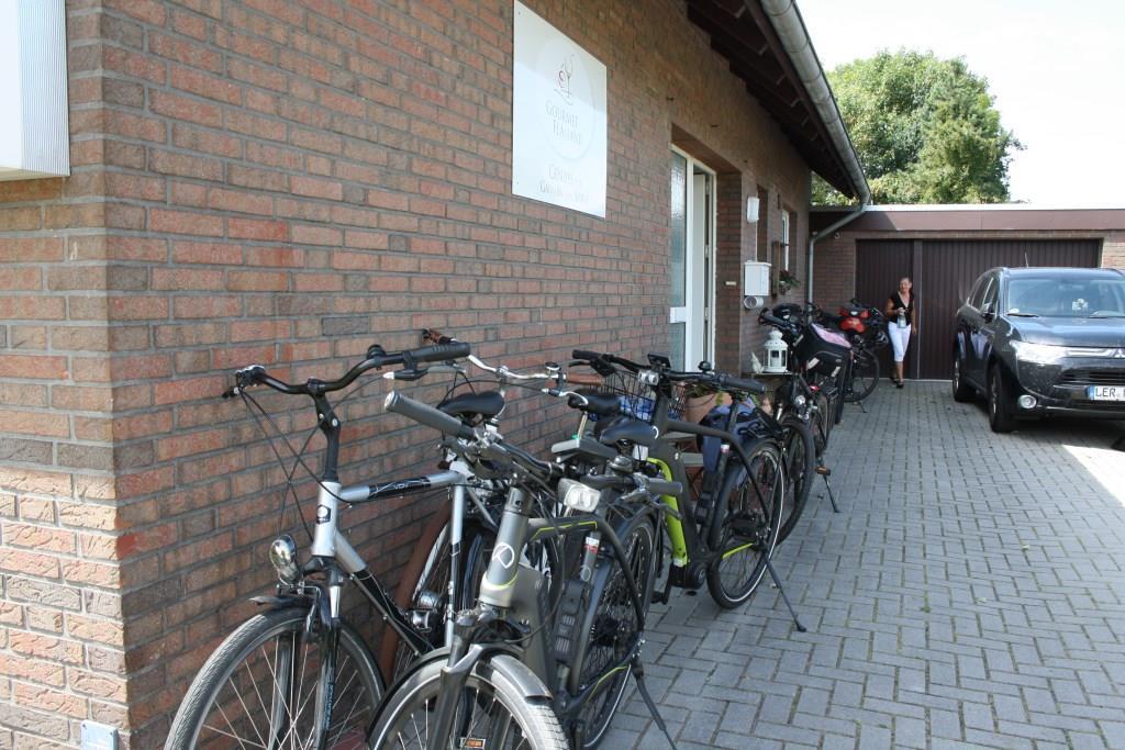 Der Tag war ideal für eine Fahrradtour