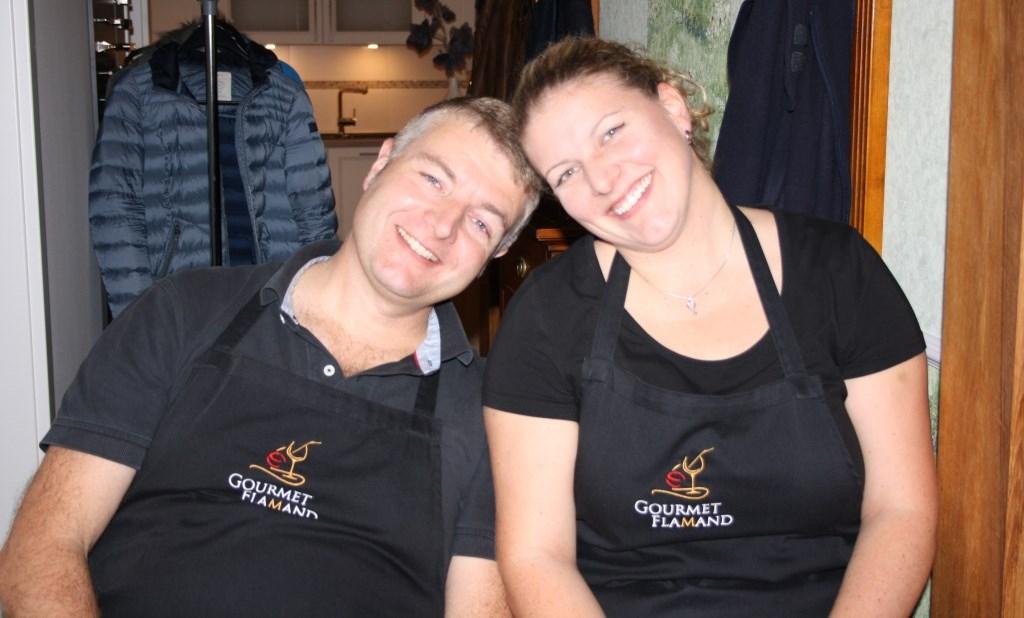 Geschwister im Einsatz für Gourmet Flamand