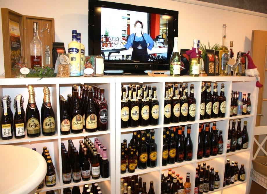 Immer noch ein Hingucker - unser Bier aus Flandern