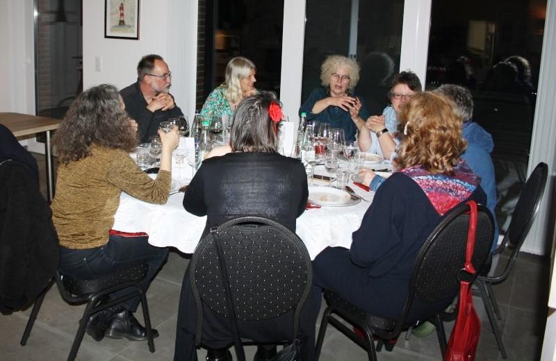 Small-Talk vor dem Essen