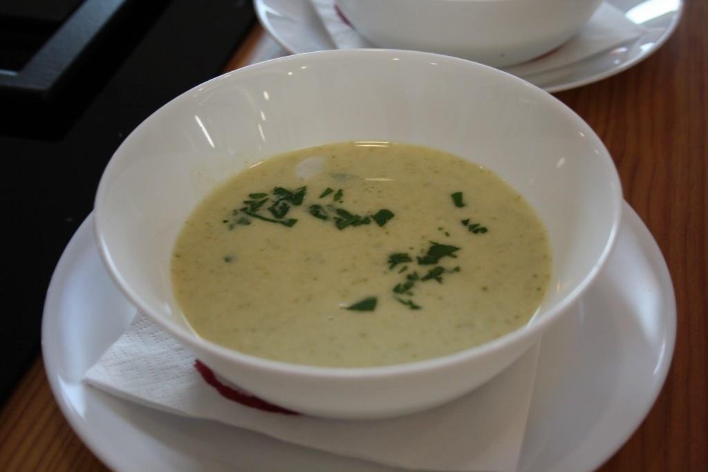 Blauschimmel-Creme-Suppe