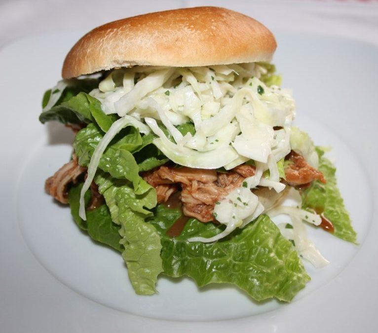 Rezept der Woche – Pulled Pork-Burger
