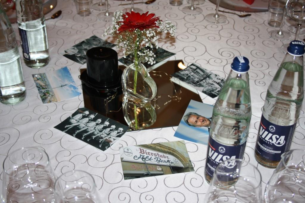Berlin-Deko auf allen Tischen