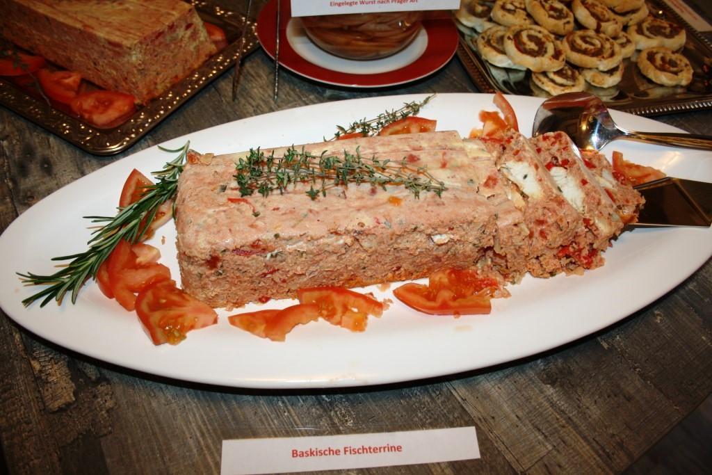 Baskische Fischpastete