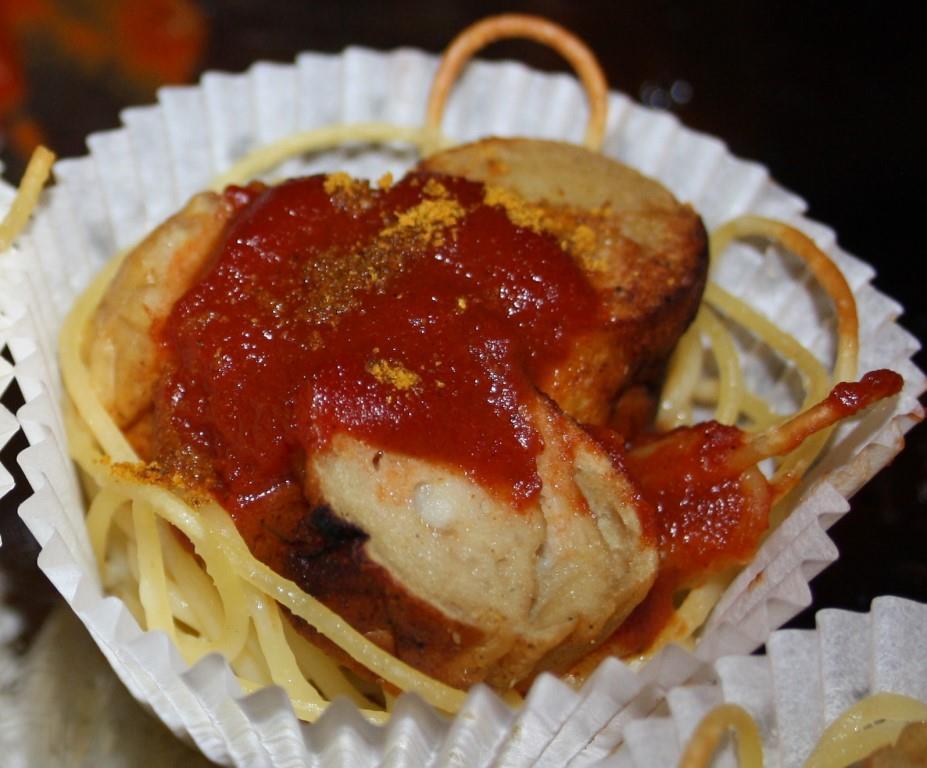 Curry-Wurst-Muffin