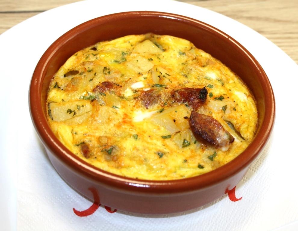Kartoffel-Chorizo-Tortilla