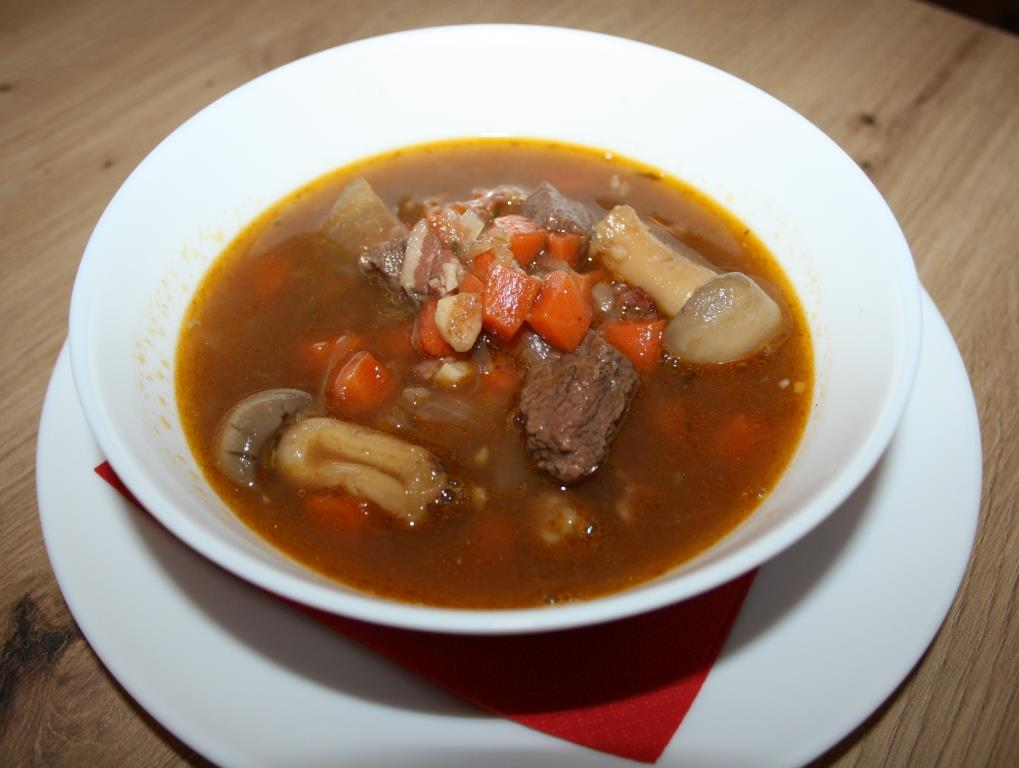 Boeuf Bourguignon-Suppe