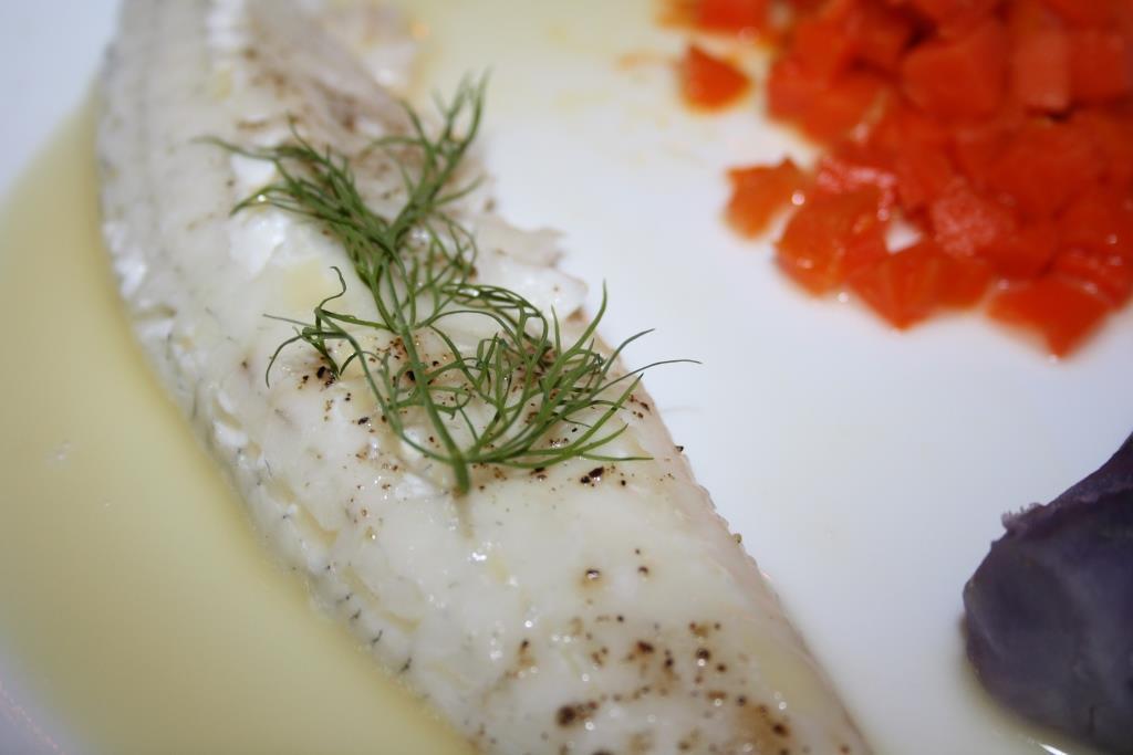 Zanderfilet mit Beurre Blanc