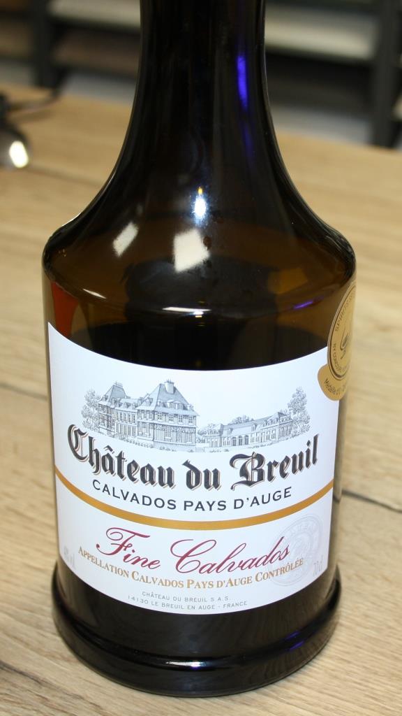 Zum Abschluss ein Calvados