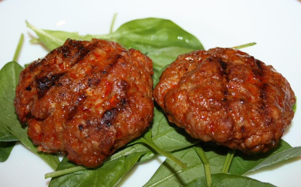 Chorizo-Frikadellen vom Grill