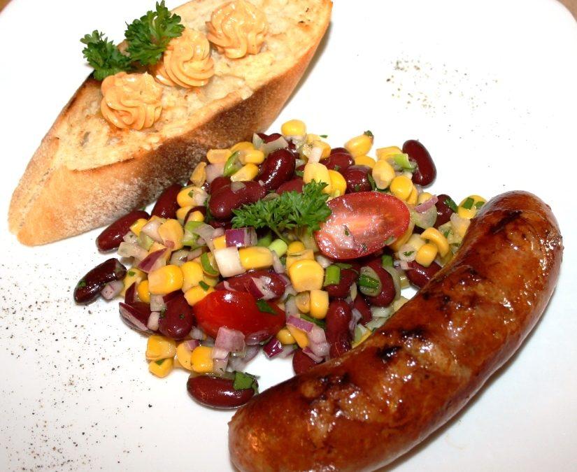 Rezept der Woche – Mexico-Salat – Grillbutter – Chorizo