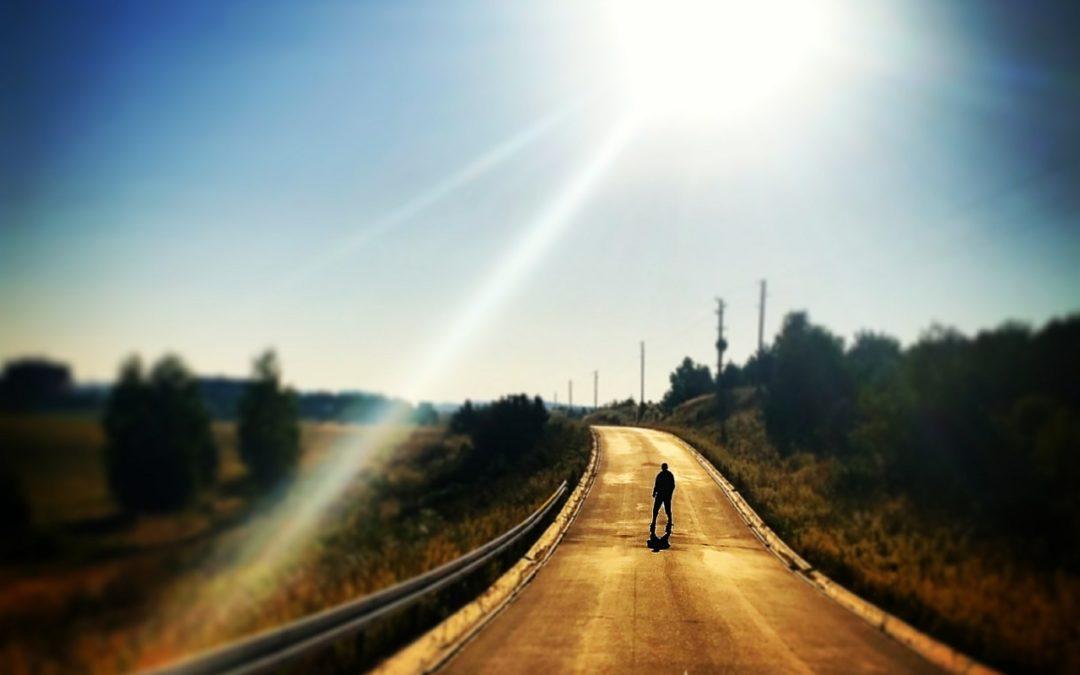 Auf der Straße der Sonne…